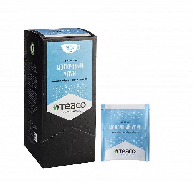 Чай Teaco МОЛОЧНЫЙ УЛУН пакетированный, для заваривания в чашке