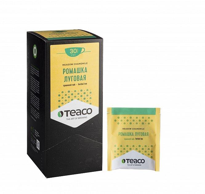 Чай Teaco РОМАШКА ЛУГОВАЯ пакетированный, для заваривания в чашке
