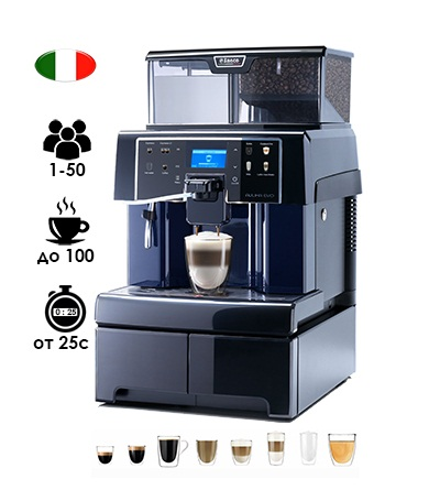Автоматическая кофемашина Saeco Aulika Evo Top High Speed Cappuccino