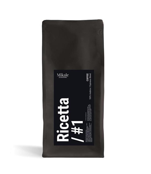 Кофе в зёрнах Mikale Ricetta #1 (New name 1) 0,5 кг.