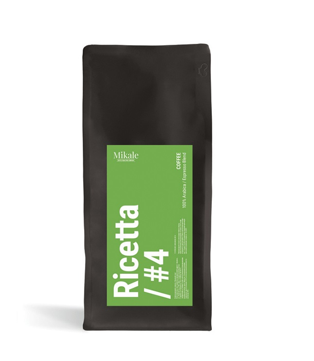 Kofe v zornakh Mikale Ricetta #4 (New name 4) 0,5 kg.