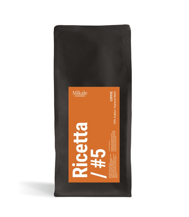 Kofe v zornakh Mikale Ricetta #5 (New name 5) 0,5 kg.