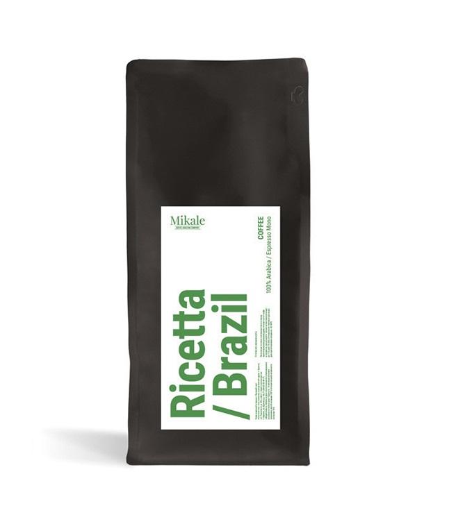 Kofe v zornakh Mikale Ricetta Brazil 1,0 kg.