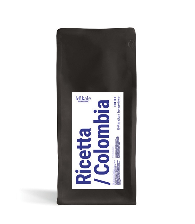 Kofe v zornakh Mikale Ricetta Colombia 1,0 kg.